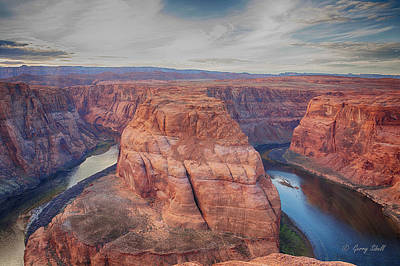Photograph - Horshoe Bend by Gerry Sibell