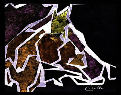 Ruben Carrillo Wall Art - Painting - Horsing Around by Ruben Carrillo