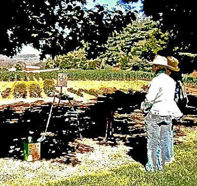 Plein Air Photograph - Horticulture En Plein Air Td1 by Scott L Holtslander