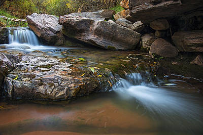 Photograph - Horton Creek Arizona Flow by Dave Dilli