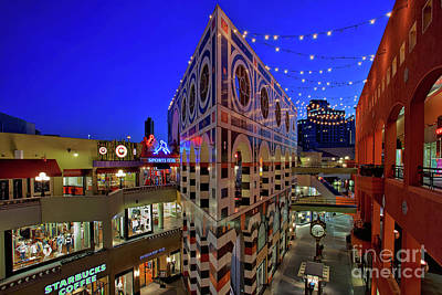 Photograph - Horton Plaza Shopping Center by Sam Antonio Photography