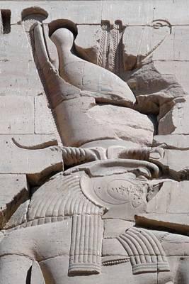 Photograph - Horus At Philae by Richard Deurer