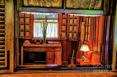 Photograph - Ho's Bedroom by Rick Bragan