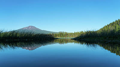 Photograph - Hosmer Lake Oregon by Lawrence S Richardson Jr
