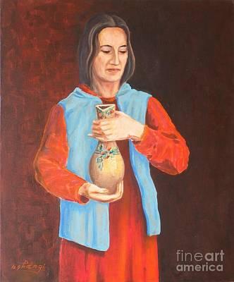 Painting - Hospitality by Ushangi Kumelashvili