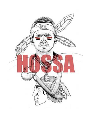 Hossa Art Print by Adam Campbell