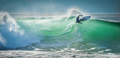 Nikon Wall Art - Photograph - Hossegor Pro 2013 by Arnaud Beau