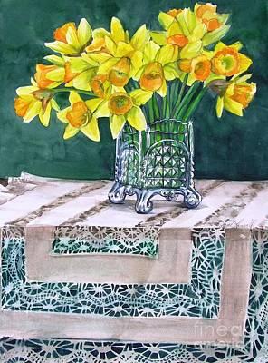 Host Of Daffodils Art Print