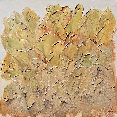 Painting - Hostas by Theresa Marie Johnson