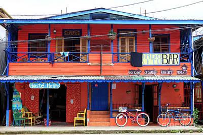 Photograph - Hostel Heike Bocas Del Toro Panama by John Rizzuto