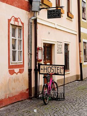 Budejovice Photograph - Hostel Parking by Rae Tucker