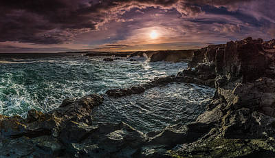 Photograph - Hostile Shores by Sigurdur William Brynjarsson