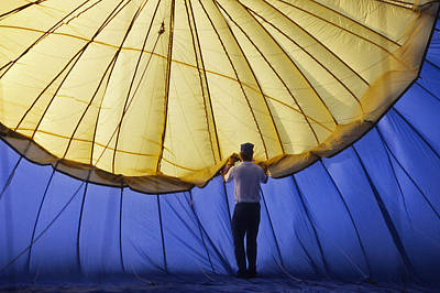 Percy Warner Park Photograph - Hot Air Balloon - 11 by Randy Muir