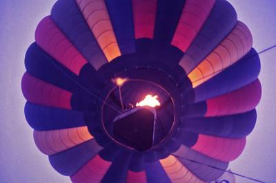 Percy Warner Park Photograph - Hot Air Balloon - 7 by Randy Muir
