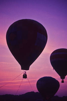 Percy Warner Park Photograph - Hot Air Balloon - 8 by Randy Muir