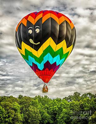 Photograph - Hot Air Balloon 1  by Nick Zelinsky