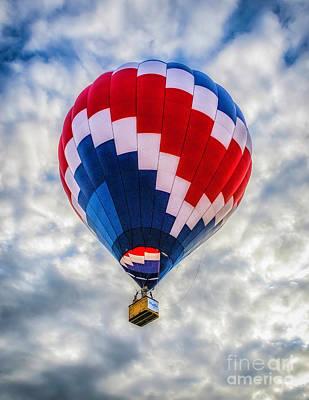 Photograph - Hot Air Balloon 2 by Nick Zelinsky