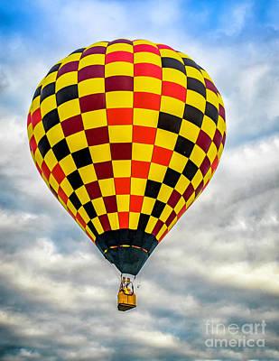 Photograph - Hot Air Balloon 3 by Nick Zelinsky