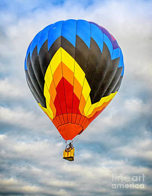 Photograph - Hot Air Balloon 4 by Nick Zelinsky
