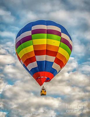 Photograph - Hot Air Balloon 5 by Nick Zelinsky