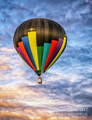 Photograph - Hot Air Balloon 6 by Nick Zelinsky