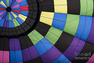 Photograph - Hot Air Balloon Abstract by Juli Scalzi