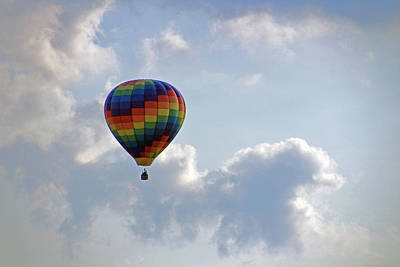 Photograph - Hot Air Balloon by Angela Murdock