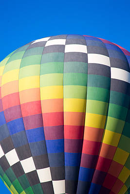 Photograph - Hot Air Balloon Background by Jodi Jacobson