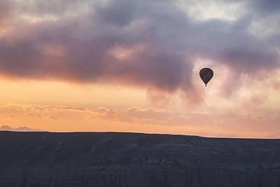 Cappadocia Wall Art - Photograph - Hot Air Balloon Cappadocia by Joana Kruse