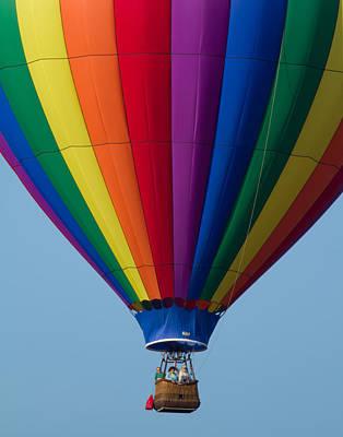Photograph - Hot Air Balloon Close-up by Leah Palmer