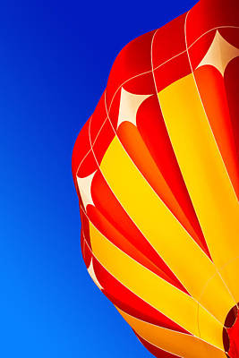 Photograph - Hot Air Balloon Close-up by Nicolas Raymond