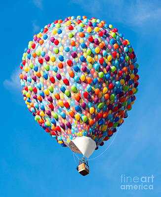 Photograph - The Up Hot Air Balloon by Colin Rayner