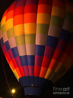 Photograph - Hot Air Balloon Color Spectrum  by Justin Moore