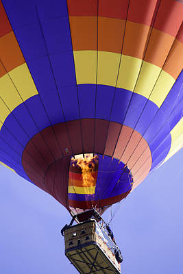 Photograph - Hot Air Balloon Fire In The Pit by Jodi Jacobson