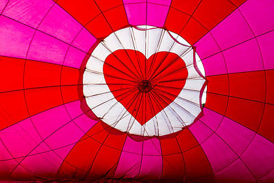 Photograph - Hot Air Balloon Insider by Teri Virbickis