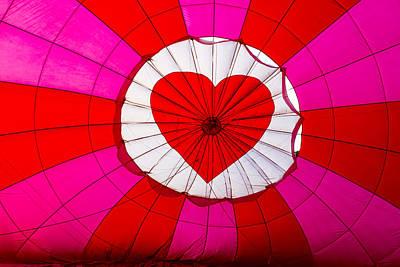 Hot Air Balloon Insider Art Print