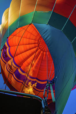 Photograph - Hot Air Balloon by Judith Barath