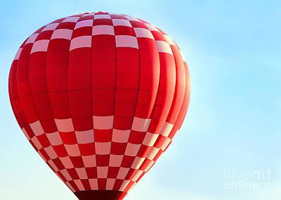 Photograph - Hot Air Balloon by Karen Adams