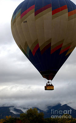 Photograph - Hot Air Balloon Rally by Anjanette Douglas