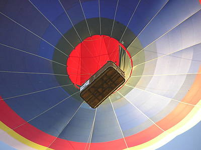 Hot Air Balloon Art Print by Richard Mitchell