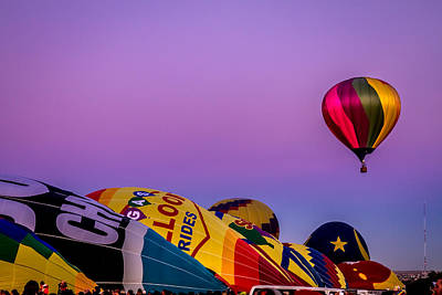 Photograph - Hot Air Balloon by Ron Pate