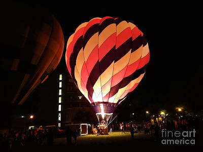 Photograph - Hot Air Balloon Stripes by Justin Moore