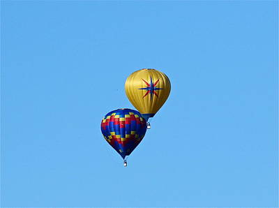 Photograph - Hot Air Ballooning by Denise Mazzocco