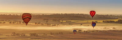 Photograph - Hot Air Ballooning by Robert Caddy