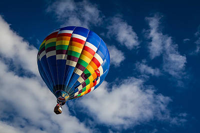 Photograph - Hot Air Balloons 1 by Ron Pate