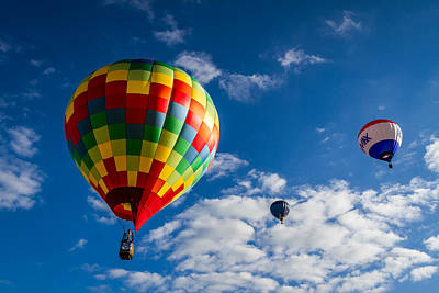 Photograph - Hot Air Balloons by Ron Pate