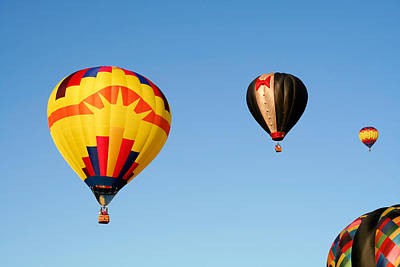 Photograph - Hot Air Balloons 3 by Nicolas Raymond