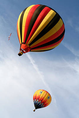 Photograph - Hot Air Balloons 4 by Nicolas Raymond