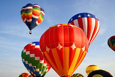 Photograph - Hot Air Balloons 5 by Nicolas Raymond