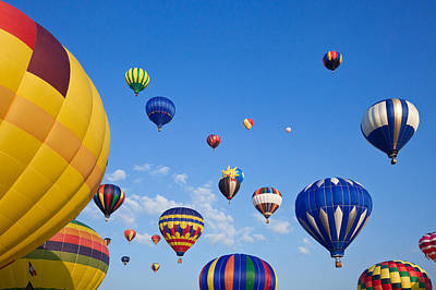 Photograph - Hot Air Balloons 6 by Nicolas Raymond
